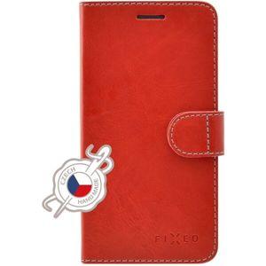 FIXED FIT flip pouzdro Apple iPhone XS Max červené