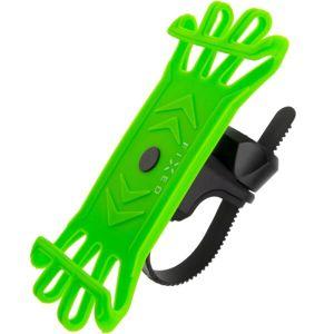 FIXED Bikee silikonový držák na kolo limetkový