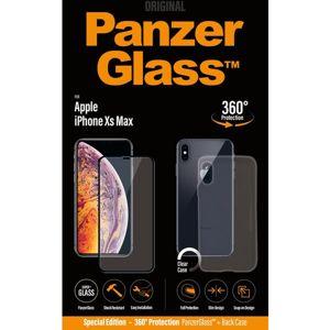 PanzerGlass Premium Bundle Apple iPhone XS Max černé + pouzdro