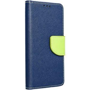 Smarty flip pouzdro Huawei Y5 2019 modré/limetkové