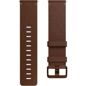 Fitbit Versa kožený řemínek vel. L Hnědý