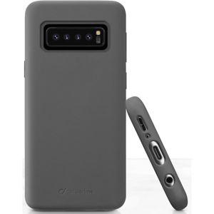 CellularLine SENSATION ochranný silikonový kryt pro Samsung Galaxy S10, černý