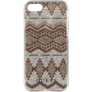 Guess Ethnic Chic Tribal 3D GUHCP7TGTA TPU kryt iPhone 7/8 béžový