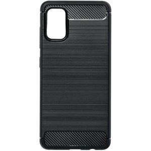 Forcell CARBON pouzdro pro Samsung Galaxy A41 černé
