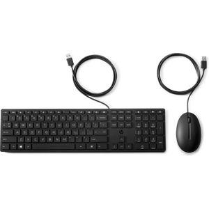 HP 320MK drátový set klávesnice s myší CZ/SK