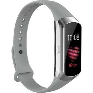 Tactical silikonový řemínek Samsung Galaxy Fit šedý