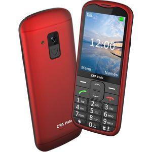 myPhone Halo 18 červený s nabíjecím stojánkem