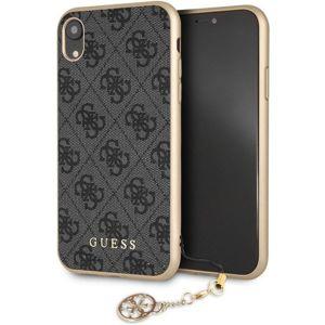 Guess Charms Hard Case GUHCI61GF4GGR iPhone XR šedé