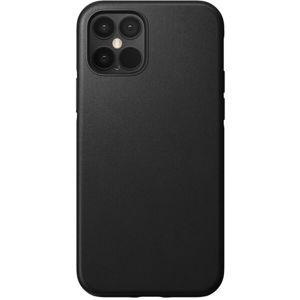 Nomad Rugged Leather case odolný kryt iPhone 12/12 Pro černý