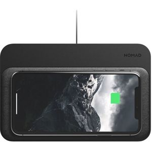 Nomad Base Station Hub Edition duální bezdrátová nabíječka černá