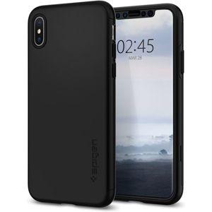 Spigen Thin Fit 360 kryt iPhone XS/X černý