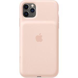 Apple iPhone 11 Pro Max Smart Battery Case zadní kryt s baterií pískově růžový