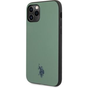 U.S. Polo Wrapped Polo kryt iPhone 11 zelený