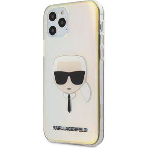 "Karl Lagerfeld PC/TPU Head kryt iPhone 12/12 Pro 6.1"" duhové"