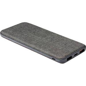 UNIQ Fuele Kanvas 10000mAH USB-C slim powerbanka tmavě šedá
