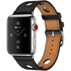 COTEetCI Fashion kožený řemínek Apple Watch 38/40mm černý