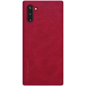 Nillkin Qin Book pouzdro Samsung Galaxy Note10 červené