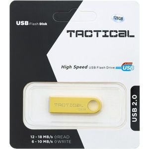Tactical USB 2.0 Flash disk 128GB zlatý