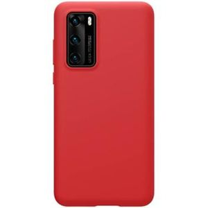 Nillkin Flex Pure Liquid Silikonové pouzdro Huawei P40 červené