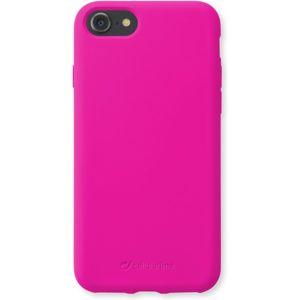CellularLine SENSATION ochranný silikonový kryt iPhone 8/7/6s růžový neon