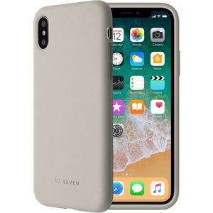 SoSeven Smoothie silikonový kryt iPhone 7/8 světle šedý