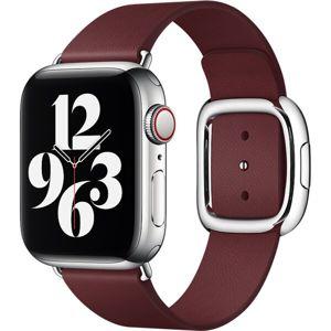 Apple Watch řemínek s moderní přezkou 40/38mm vel. M granátový