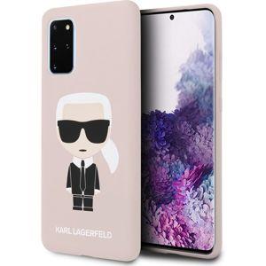 Karl Lagerfeld Full Body kryt Samsung Galaxy S20+ růžový