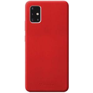CellularLine SENSATION ochranný silikonový kryt Samsung Galaxy A51 červený