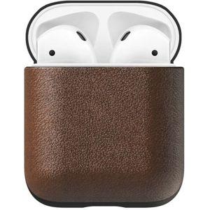 Nomad Leather case pouzdro pro Apple AirPods hnědé