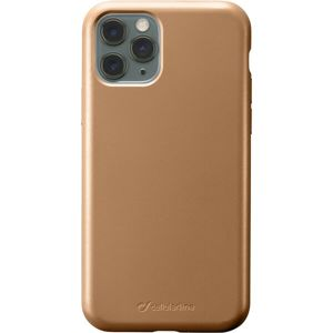 CellularLine SENSATION Metallic silikonový kryt Apple iPhone 11 Pro zlatý
