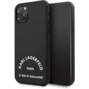 Karl Lagerfeld Rue St Gullaume KLHCN61NYBK kryt iPhone 11 černý