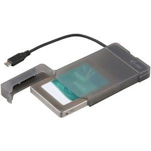 """i-tec MYSAFE Easy 2,5"""" USB-C 3.1 Gen 2 externí pouzdro černé"""