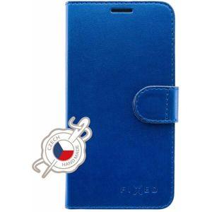 FIXED FIT Shine flip pouzdro Apple iPhone 11 modré