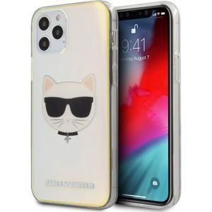 "Karl Lagerfeld PC/TPU Choupette Head kryt iPhone 12 Pro Max 6.7"" duhové"