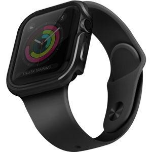 UNIQ Valencia kovové pouzdro Apple Watch Serie 4/5 (44mm) tmavě šedé