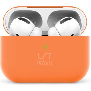 iWant AirPods Pro ultra-tenké pouzdro oranžové