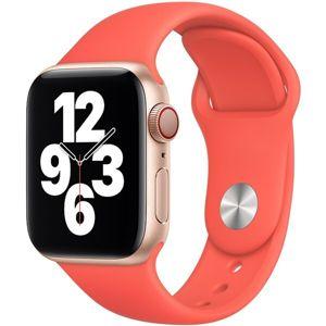 Apple Watch sportovní řemínek 42/44mm citrusově růžový