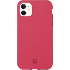 CellularLine SENSATION ochranný silikonový kryt iPhone 12 mini oranžový