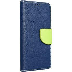Smarty flip pouzdro Huawei P Smart 2019 modré/limetkové