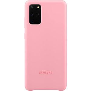Samsung EF-PG985TP silikonový zadní kryt Galaxy S20+ růžový