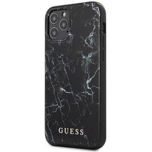 """Guess PC/TPU Marble kryt iPhone 12 Pro Max 6.7"""" černý"""