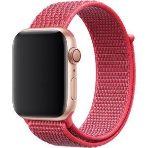Apple Watch provlékací sportovní řemínek 44/42mm ibišková