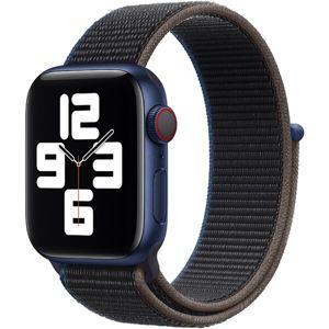 Apple Watch provlékací sportovní řemínek 40/38mm uhlový