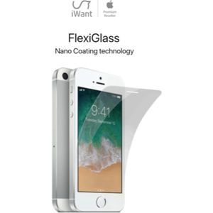iWant FlexiGlass 2.5D tvrzené sklo 0,2mm / tvrdost 9H Apple iPhone SE/5S/5