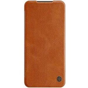 Nillkin Qin Book pouzdro Xiaomi Redmi Note 9 Pro/Note 9s hnědé