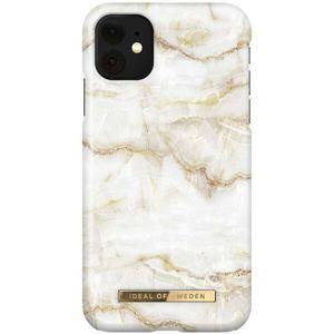 iDeal of Sweden ochranný kryt iPhone 11 Golden Pearl Marble