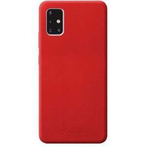 CellularLine SENSATION ochranný silikonový kryt Samsung Galaxy A71 červený