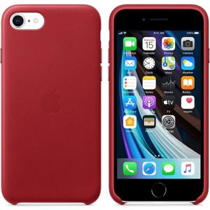 Apple kožený kryt iPhone SE (2020) (PRODUCT)RED