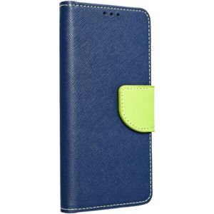 Smarty flip pouzdro Nokia 6.1 (2018) modré/limetkové