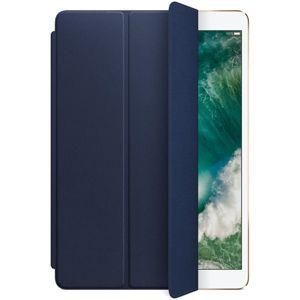 """Apple iPad Air 10,5"""" / iPad 10,2"""" Leather Smart Cover kožený přední kryt půlnočně modrý"""
